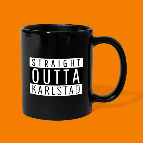 Straight outta Karlstad - Enfärgad mugg