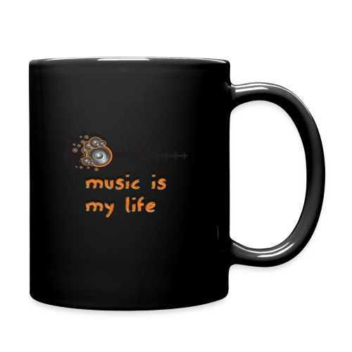 Music is my Life - Tazza monocolore