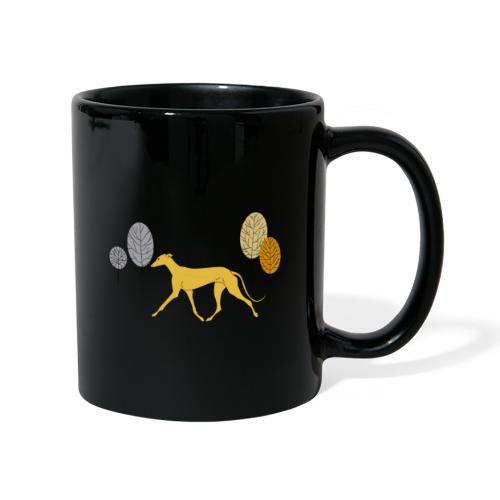 Gelber Windhund - Tasse einfarbig