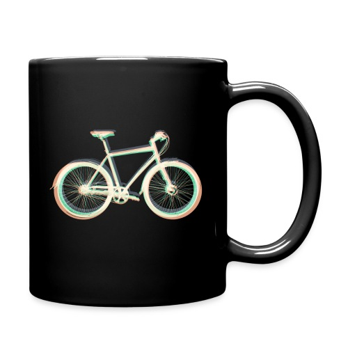 Fahrrad Bike Outdoor Fun Radsport Radtour Freiheit - Full Colour Mug