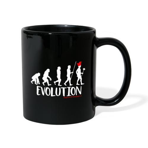 Die Evolution - Tasse einfarbig