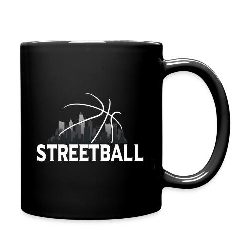 Streetball Skyline - Street basketball - Full Colour Mug
