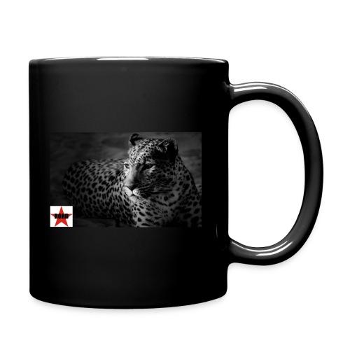 black-white-cat - Tasse einfarbig