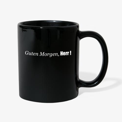 guten_morgen_herr - Tasse einfarbig
