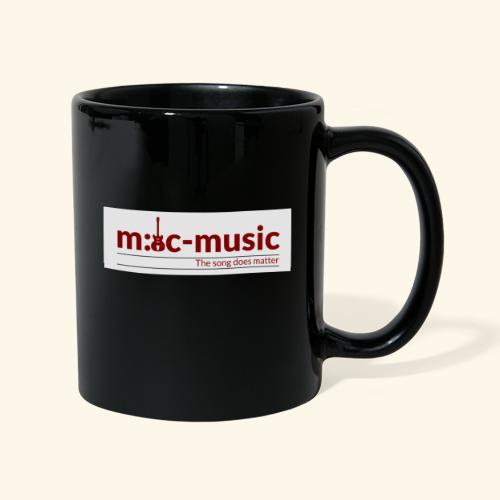 mtc music - Tasse einfarbig