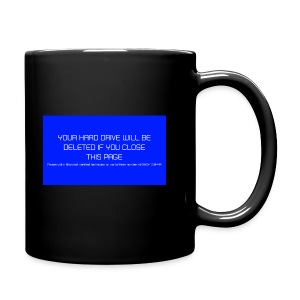 Hard Drive Deleted Notice - Full Colour Mug