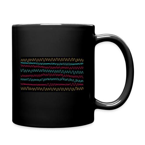 wave - Tasse einfarbig