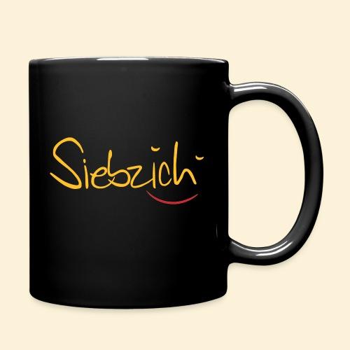siebzich - Tasse einfarbig