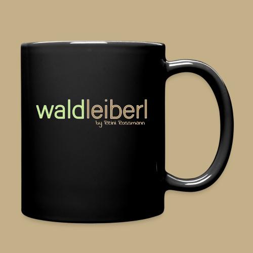 waldleiberl logo by reini rossmann - Tasse einfarbig