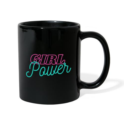 Girl Power - Tasse einfarbig