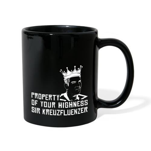 Property of your Highness WHITE - Tasse einfarbig