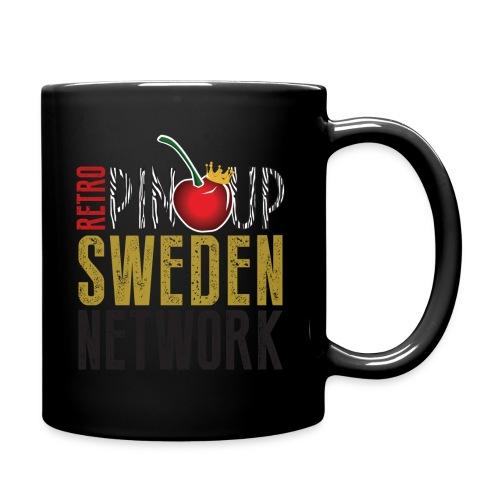 Tanktop Retro Pinup Sweden Crew utsvängd - Enfärgad mugg