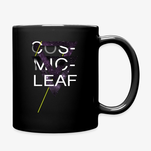 Cosmicleaf Triangles - Full Colour Mug