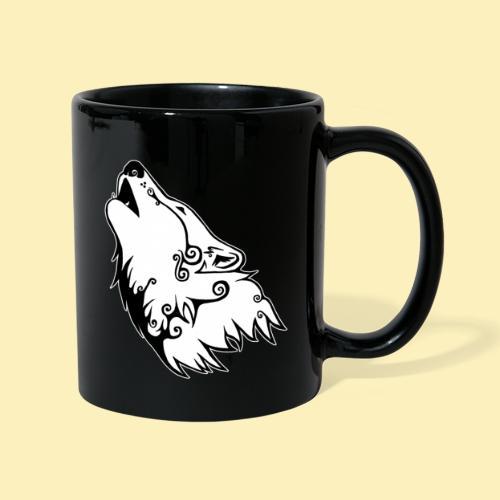 Le Loup de Neved (version contour blanc) - Mug uni