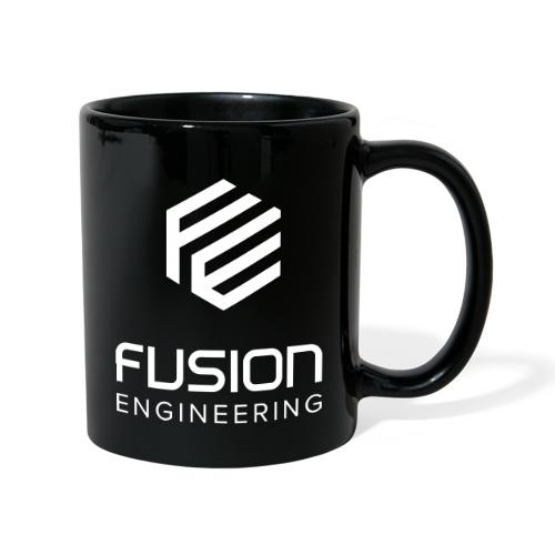 Fusion logo in white - Mok uni