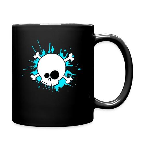 SKULL SPLASH BLEU - Mug uni