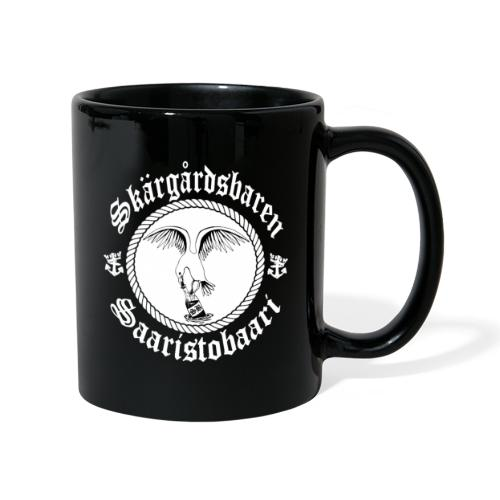 White Logo - Yksivärinen muki