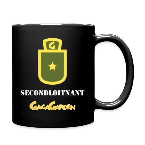 GagaGarden secondløitnant - Ensfarget kopp