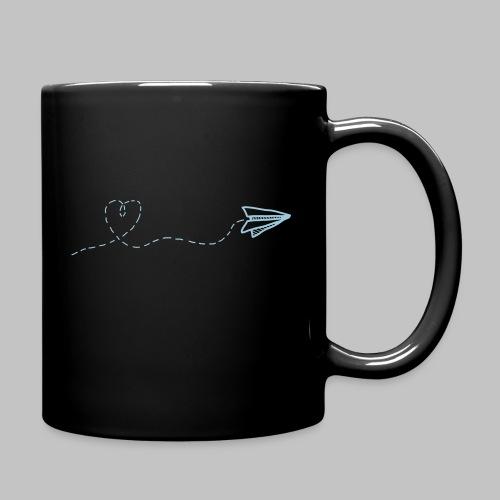 fly heart - Full Colour Mug
