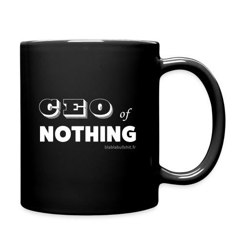CEO of nothing - Mug uni