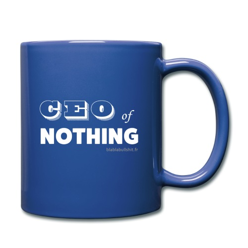 CEO of nothing - Mug uni