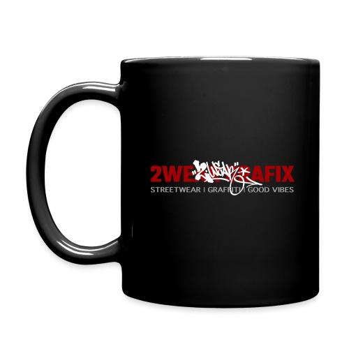 2wear grafix box logo - Ensfarvet krus