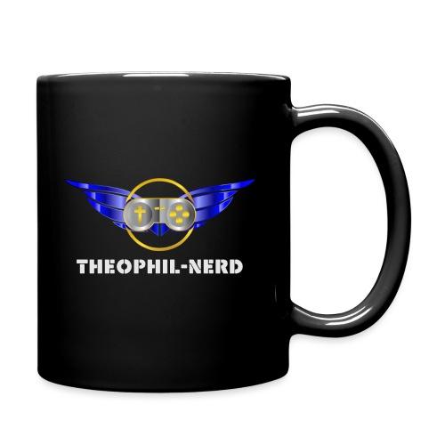 Theophil-Nerd - Das neue Logo für Nerds - Tasse einfarbig