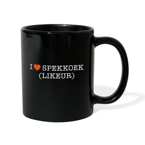 I Love Spekkoek(likeur) - Mok uni