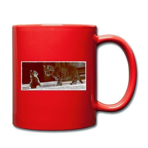 süsse Katzen Babys - Tasse einfarbig
