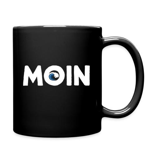 Moin Welle Ahoi Meer maritim Geschenk - Tasse einfarbig