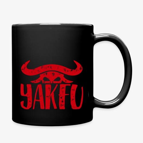 YakFu (Red) - Tasse einfarbig
