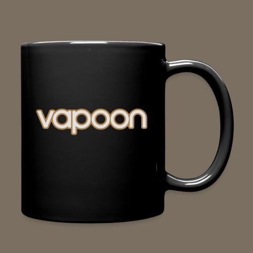 Vapoon Logo simpel 2 Farb - Tasse einfarbig