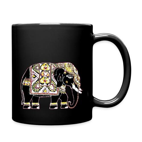 Indian elephant for luck - Full Colour Mug