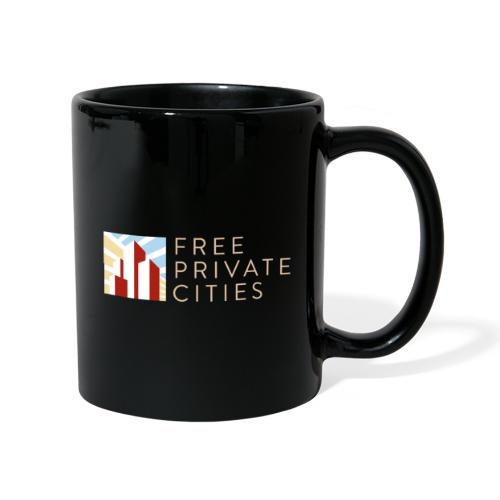 Free Private Cities Logo - Full Colour Mug