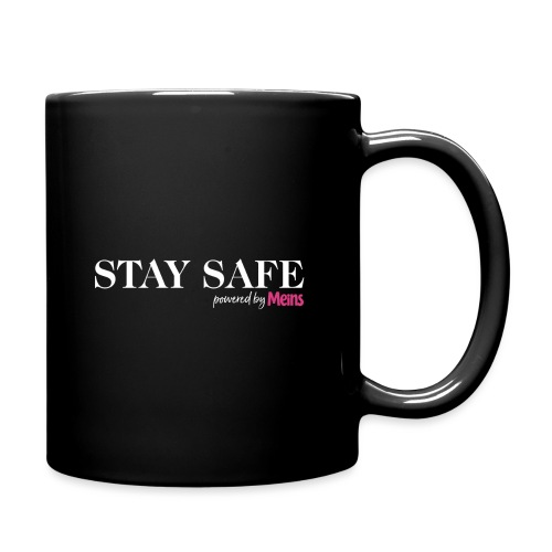 STAY SAFE - Tasse einfarbig