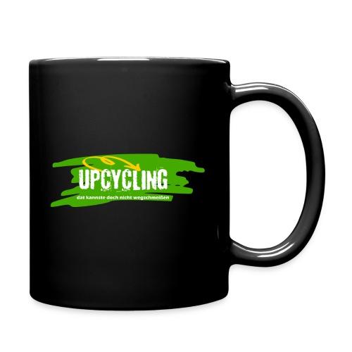 Upcycling - dat kannste doch nicht wegschmeißen - Tasse einfarbig