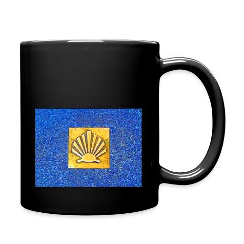 Scallop Shell Camino de Santiago - Full Colour Mug