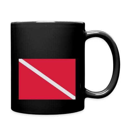 Diver Flag - Full Colour Mug