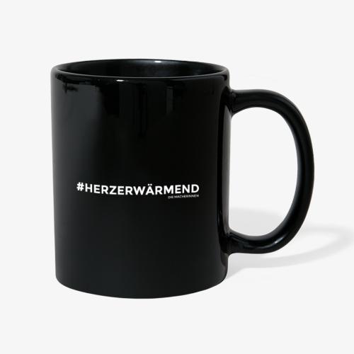 #HERZERWÄRMEND - Tasse einfarbig