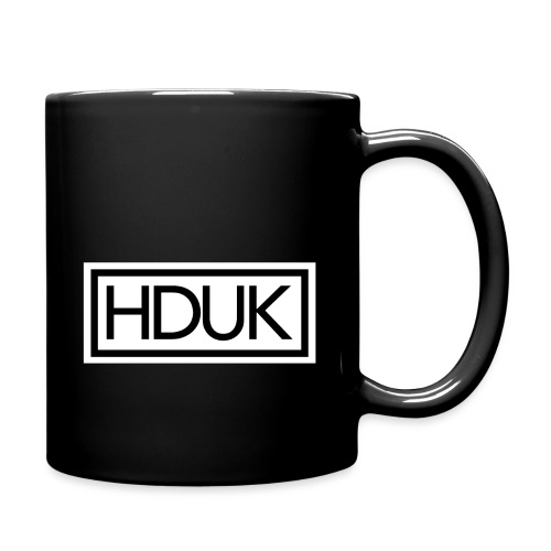 HDUK Black Logo with Border - Full Colour Mug
