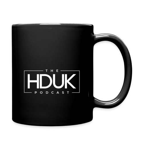 The HDUK Podcast Logo - Full Colour Mug