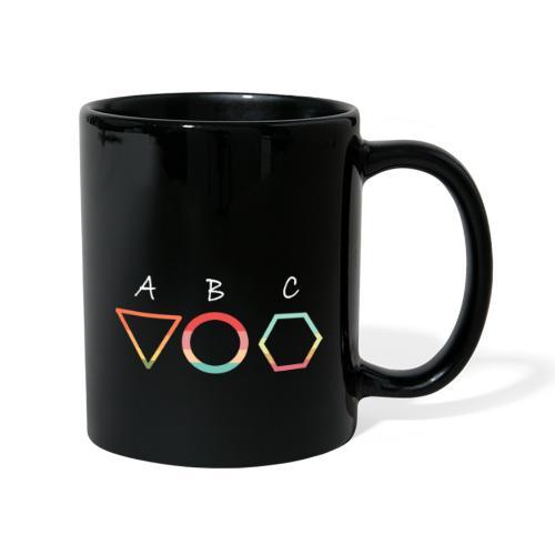 Abc t shirt - Enfärgad mugg