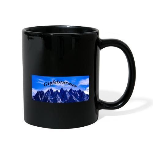 Dolomitenpanorama - Tasse einfarbig
