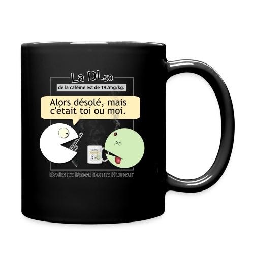 DL50 de la caféine - Mug uni