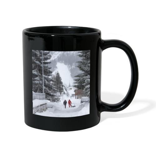 Mug le village en hiver - Mug uni
