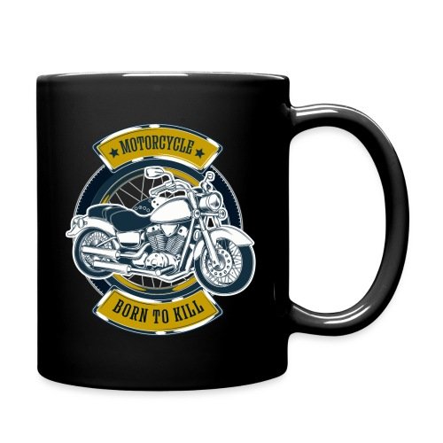 Motorcycle5 - Taza de un color