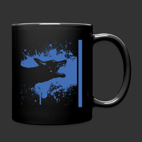 K9 Thin Blue Line - Full Colour Mug