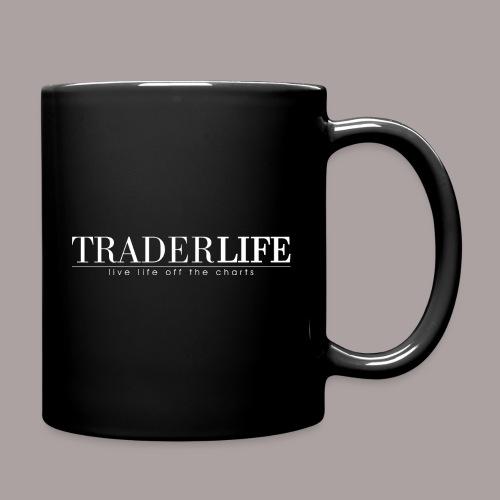 TraderLife Logo White - Full Colour Mug