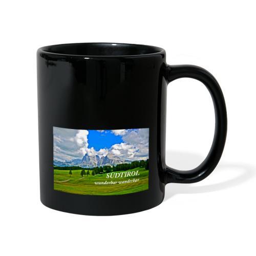 SÜDTIROL wunderbar wanderbar - Tasse einfarbig