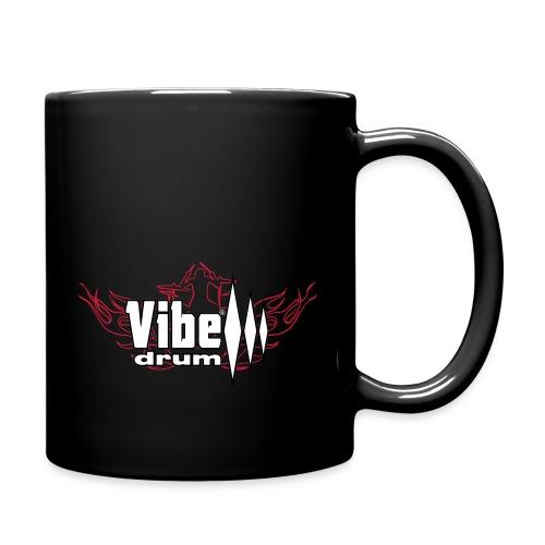 Vibe_Drum_Logo_Flames - Tazza monocolore